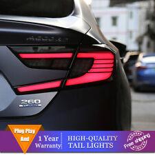 New Led Taillights Assembly For Honda Accord Dark Led Rear Lights 2018 2020