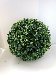 Artificial Topiary Boxwood Ball Grass Ball Topiaries, Indoor Outdoor Artificial