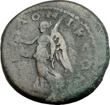 SEPTIMIUS SEVERUS 193AD Thessalonica Macedonia Ancient Roman Coin NIKE i64900