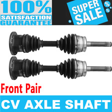 Front 2x CV Joint Axle Shaft for NISSAN D21 1994 NISSAN PATHFINDER 96-04 4WD