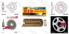 Honda CB500 S 98-03 DID X Ring Gold Chain Sprocket Kit 15/40t 525/108