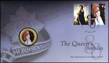 2006: Queen's Birthday: 50th Anniversary of Portrait - Perth Colour 50 Cent PNC