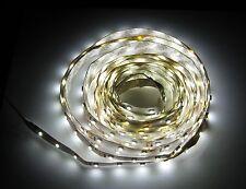 5 Meter White LED Adhesive Strip - 300 LEDs - 6500 K - 12 V - 270 Lumens / Meter