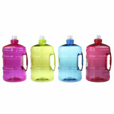 4 bottle 2L Large BPA Free Sport Gym Training Big Drink Water Bottle Cap Workout