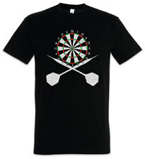 Darts Board And Crossed Darts T-Shirt Sports Training Trainer Dart Arrow Arrows