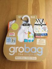 Grobag Baby Sleeping Bag 0-6 months *1.0&2.5 Tog *TWIN pack **NEW