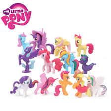 13pcs My Little Pony Action Figure Rainbow Dash Twilight Sparkle Cake Topper Toy