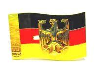 Bandera & Águila Bandera Recuerdo Metal Imán, Germany Esmalte Óptica