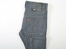 Levis 510 Mens Skinny Jeans Gray Cotton Stretch 29X30