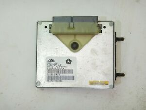 Jeep Wrangler TJ 97-00 Antilock Brake ABS Control Module 56027271AB FREE SHIP!
