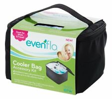 Evenflo Feeding Insulated Cooler Bag Accessory Kit with Ice Pack and Breast M.