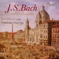 MATTHIAS HAVINGA - J.S: BACH ITALIENISCHE KONZERTE/ITALIAN CONCERTO  CD NEU