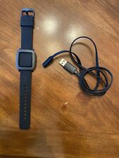 Pebble Time Stainless Steel Smartwatch Jet Black - Used 1x