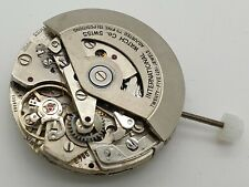 VINTAGE IWC CHRONOGRAPH AUTOMATIC MOVEMENT REF 790 WITH BLACK DATE DISC....
