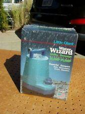 LITTLE GIANT 5-MSP WATER WIZARD SUBMERSIBLE SUMP PUMP 1250 GPH 505000 NEW NIB