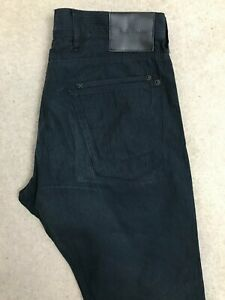 Paul Smith Straight Fit Denim Jeans 34R W34 L32 Dark Blue PSJ Chinos Trousers