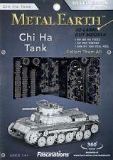 Chi-ha Imperial Japanese Tank Metal Earth 3D Model Kit FASCINATIONS