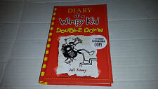 Diary of a Wimpy Kid : Double Down by Jeff Kinney (2016) SIGNED 1st/1st
