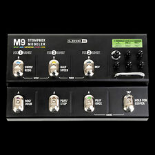 Line 6 M9 Stompbox Modeler Delay Distortion Filter and Reverb