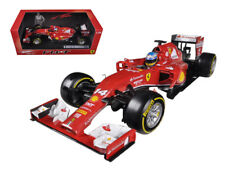 1/18 Hot Wheels 2014 Ferrari Formula 1 Fernando Alonso F14-T Diecast Model BLY67