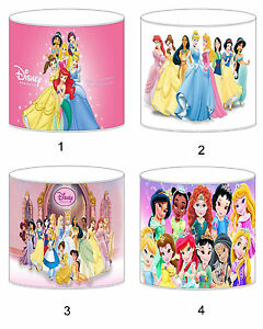 Disney Princess Lampshade Ideal To Match Bedding Duvets Curtains Cushion Covers