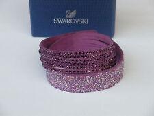 Swarovski Slake Purple Lila Duo Armband Bracelet Bracciale 5169277