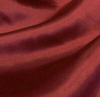 Red Charmeuse High Quality Satin Fabric Sold By The Yard