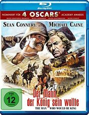 THE MAN WHO WOULD BE KING English Friendly IMPORT Blu-Ray NEW Sean Connery
