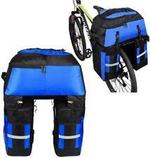 Fahrradtasche 70L Fahrrad Satteltasche Gepäckträger Packtaschen Wasserdicht J9S7