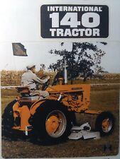 International Ih 140 Tractor Agricultur Farm Color Sales Brochure Catalog Manual