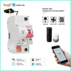 7Smart Life(tuya)  1P WiFi Smart  air switch din rail  overload short circuit