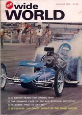 WIDE WORLD-the magazine for men-AUG 1965-THE CRAZY WORLD OF THE DRAG RACERS.