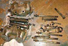 New ListingTriumph 650 Rocker Boxes Tr6 T120 Bonneville w/ head bolts, pushrods, tubes nice