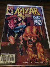 Ka-zar #17 Marvel Comics 1st Appearance Everett Ross Civil War Black Panther
