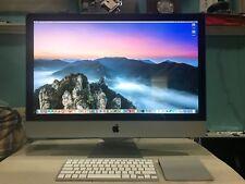 "iMac 27"" (A1312) 3.4GHz Intel Core i7 - 20G RAM, 2T HD, 525G SSD GOOD CONDITION."