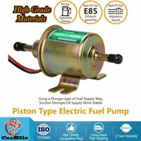 1-2A 12V Universal 4-7 PSI Diesel Inline Low Pressure Electric Fuel Pump FD0002