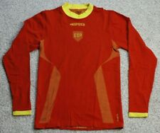 Mens L Large Kipsta Espana Spain Red Yellow Athletic Performance Shirt Soccer