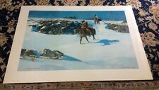 Gary Carter Limited Edition Lithograph Western Art Print Artist Signed/Numbered