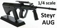 1/4 SCALE - STEYR AUG DIECAST DISPLAY MODEL - bullpup SA80 AK47 1/3 1/6 Cold War