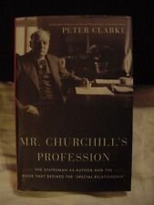 MR. CHURCHILL'S PROFESSION by Clarke HOW HE WROTE HIST ENGLISH SPEAKING PEOP
