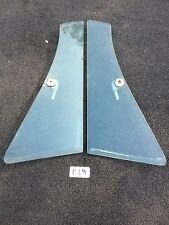 1960 to 1964 HARDTOP Clear Vent Window Panes, TWO Plymouth Dodge Chrysler