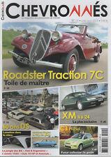 CHEVRONNES 11 CITROEN TRACTION 7C ROADSTER 1935 GS XM V6.24 AMI 8 BREA ARGENTINE