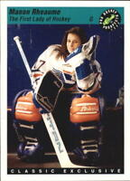 1993 Classic Pro Hockey Prospects (Pick Your Players) Manon Rheaume