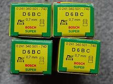 4 x Bosch Zündkerzen D6BC NEU