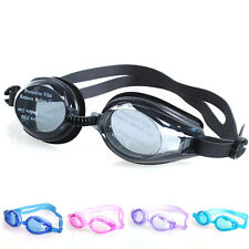 Kids Boys Girl Swimming Goggles Anti-fog Swim Glasses Adjustable + Ear PlugQY
