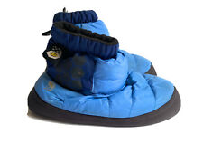 Mountain Hardware Blue Down Booty Slippers XS