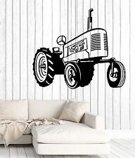 Wall Decal Tractor Machine Farm Work Building Home Interior Decor z4705