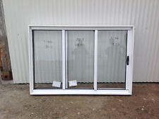 1200h x 1810w PEARL WHITE SSF *BRAND NEW* Sliding Stacker servery Window 8501