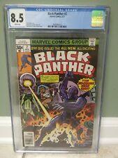 Black Panther #2 (1977) CGC Graded 8.5 Jack Kirby - Marvel Comics  - 🇺🇸🇺🇸