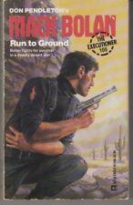 Executioner #106: Run to Ground  - PB 1987 - Don Pendleton - Mack Bolan